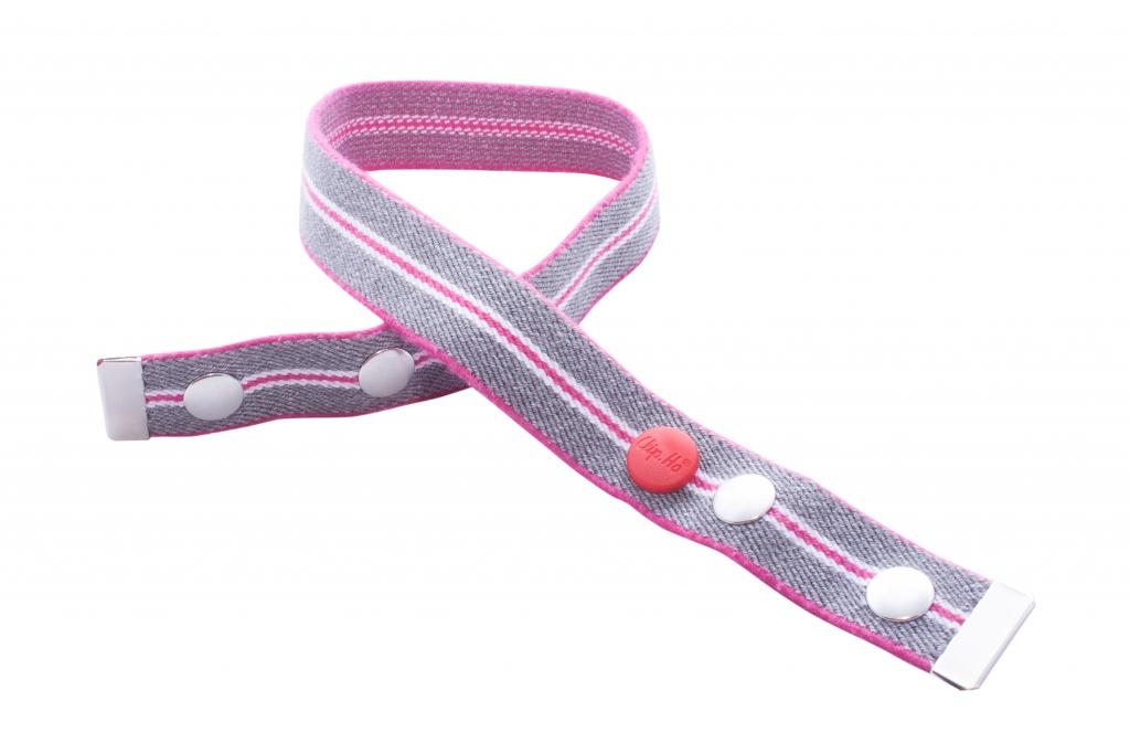 Clip.Ho TWO pink/grau/weiß